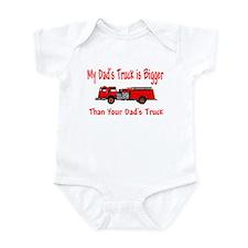 Firetruck Daddy Infant Bodysuit