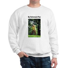 My Retirement Plan (Golf) Sweatshirt