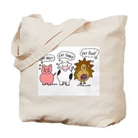 Eat Pizza! Tote Bag