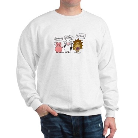 Eat Pizza! Sweatshirt