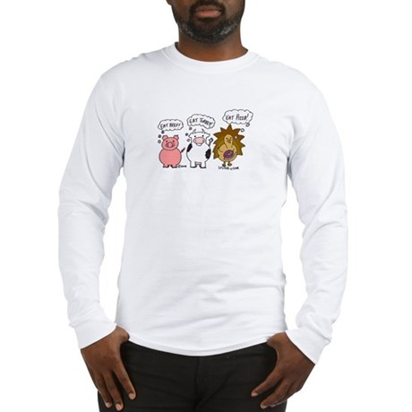 Eat Pizza! Long Sleeve T-Shirt