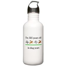 75 dog years birthday 1 Water Bottle