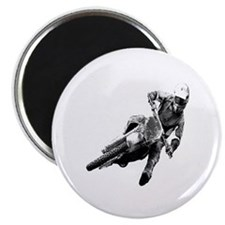 """Grooving it on a dirt bike 2.25"""" Magnet (10 pack)"""