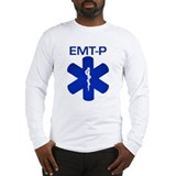 EMT-P Bandaids Long Sleeve T-Shirt