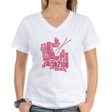 Knitting Abbreviation Cloud T-Shirt