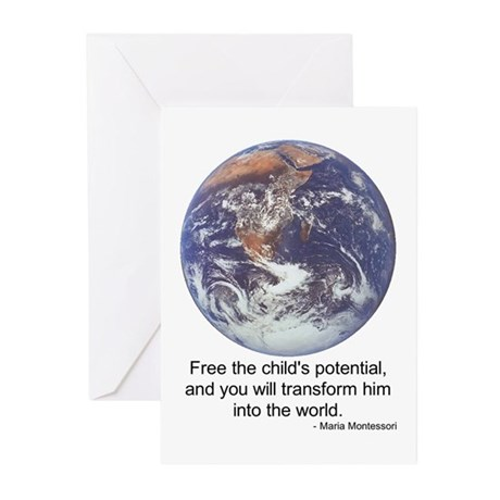 Montessori World - Potential Greeting Cards (Packa