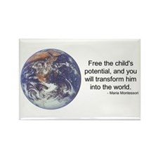 Montessori World - Potential Rectangle Magnet (100