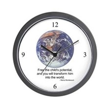 Montessori World - Potential Wall Clock