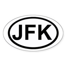 JFK Oval Decal
