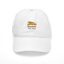 Personalized Teacher Baseball Cap