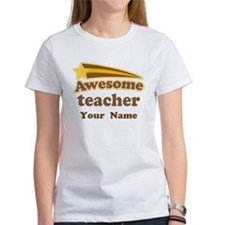 Personalized Teacher Tee