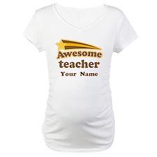 Personalized Teacher Shirt