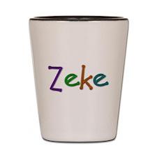 Zeke Play Clay Shot Glass