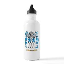 Adkins-2 Coat of Arms Water Bottle