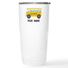 Personalized School Bus Driver Travel Mug