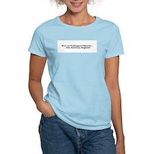 Save an endangered species... Women's Pink T-Shirt