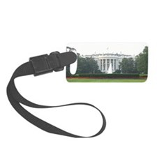White House South Side Luggage Tag