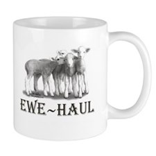 Ewe Haul Black & White Coffee Mug