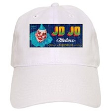 Melons Fruit Crate Label Baseball Cap
