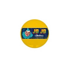 Melons Fruit Crate Label Mini Button (10 pack)