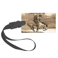 End of Trail Luggage Tag