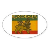 EXODUS - Oval Decal