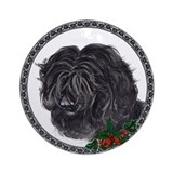 """The Thinker"" Portuguese Water Dog Ornament"