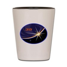 Expedition 35 Shot Glass