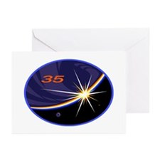 Expedition 35 Greeting Cards (Pk of 10)