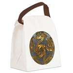 Faberge's Jewels - Grey Canvas Lunch Bag