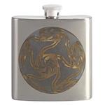 Faberge's Jewels - Grey Flask