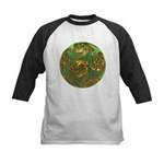 Faberge's Jewels - Green Baseball Jersey