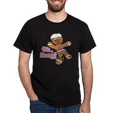 funny cute oh snap gingerbread man T-Shirt