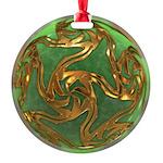 Faberge's Jewels - Green Ornament