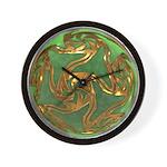 Faberge's Jewels - Green Wall Clock