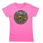 Faberge's Jewels - Blue Girl's Tee