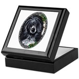 """Elegance"" Portuguese Water Dog Keepsake Box"