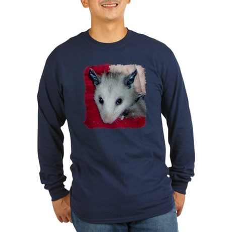 Little Possum Long Sleeve Dark T-Shirt