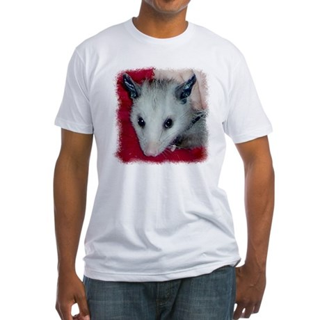 Little Possum Fitted T-Shirt