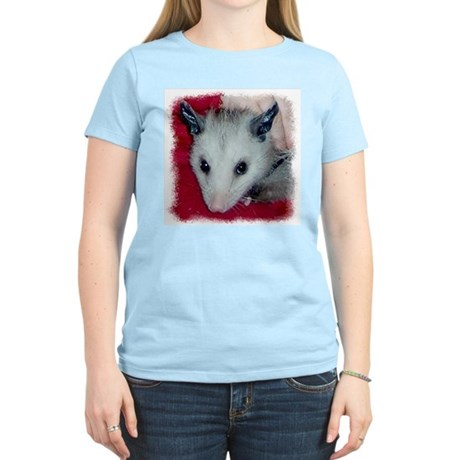 Little Possum Women's Pink T-Shirt