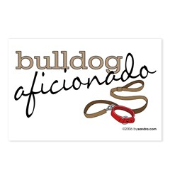 Bulldog Aficionado Postcards (Package of 8)