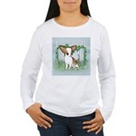 GardenFenceSmoothTanWhte copy.png Long Sleeve T-Sh