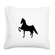 Saddlebred Square Canvas Pillow