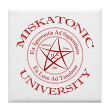 Miskatonic University Tile Coaster