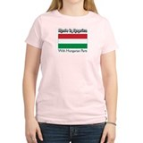 Hungarian Parts Women's Pink T-Shirt