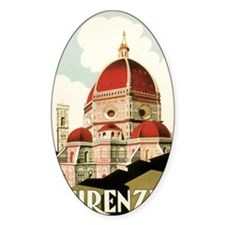 Vintage Firenze Italy Church Duomo Decal