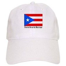 Puerto Rican by Marriage Baseball Cap