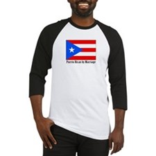 Puerto Rican by Marriage Baseball Jersey