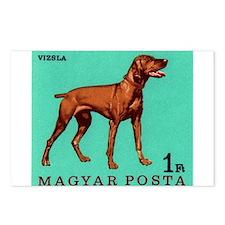 1967 Hungary Vizsla Dog Postage Stamp Postcards (P