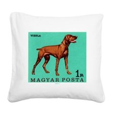 1967 Hungary Vizsla Dog Postage Stamp Square Canva